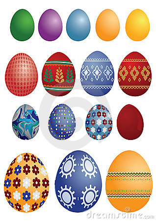 Free Easter Eggs Royalty Free Stock Photo - 13183015