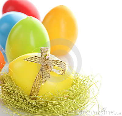 Free Easter Eggs Royalty Free Stock Photography - 13517037