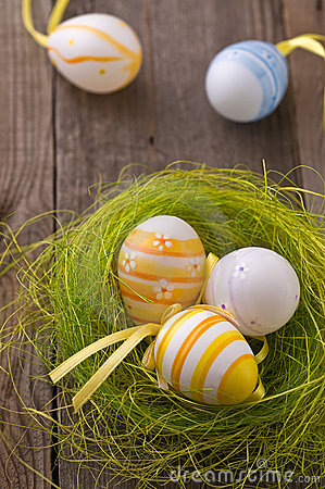Free Easter Eggs Royalty Free Stock Photography - 18314457