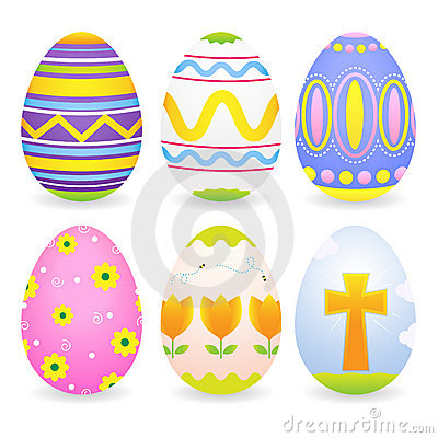 Free Easter Eggs Royalty Free Stock Photo - 18936395