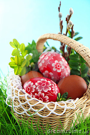 Free Easter Eggs Stock Images - 18952364