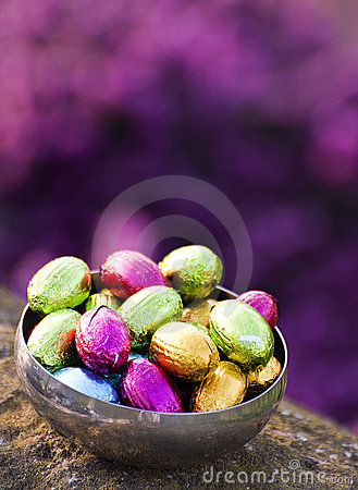 Free Easter Eggs Royalty Free Stock Photography - 19369987