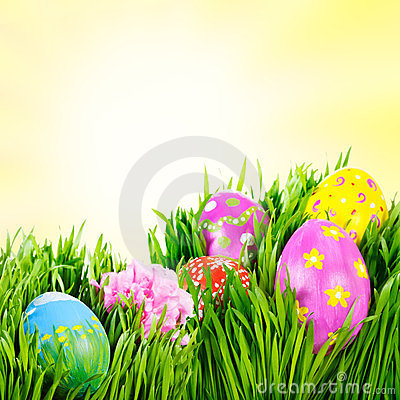 Free Easter Eggs Royalty Free Stock Images - 23928829
