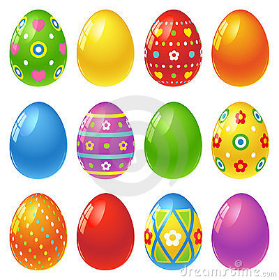 Free Easter Eggs Royalty Free Stock Image - 23934926