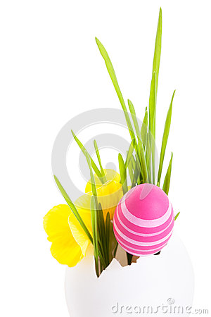 Free Easter Eggs Stock Photo - 28369760