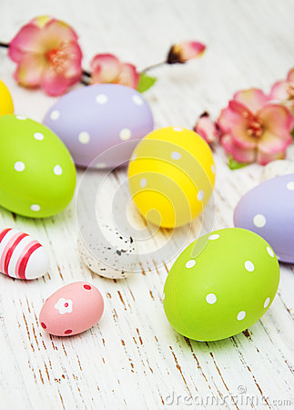 Free Easter Eggs Stock Photo - 50947420
