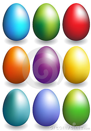 Free Easter Eggs Royalty Free Stock Images - 9584509
