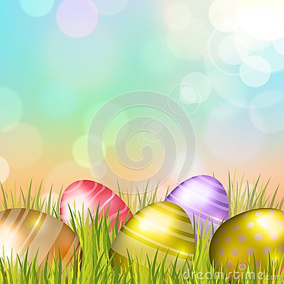 Free Easter Eggs Background Stock Photography - 38155702