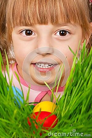 Easter eggs hunt