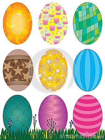 Easter Eggs Set_eps