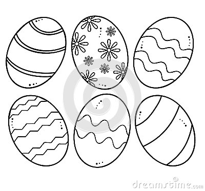 Free Easter Eggs Vector Royalty Free Stock Photo - 29787455