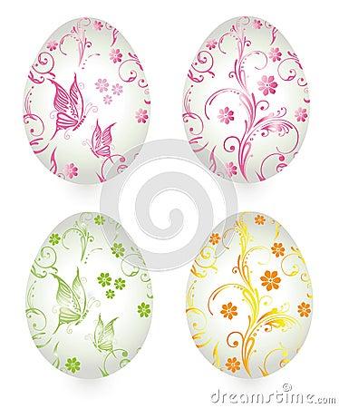 Easter eggs, vintage
