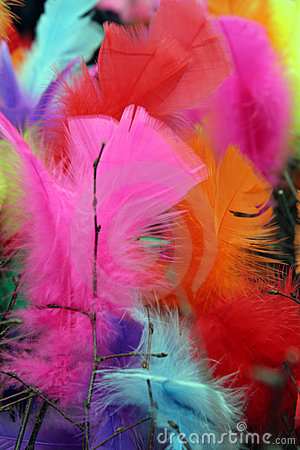 Easter feather tree 1