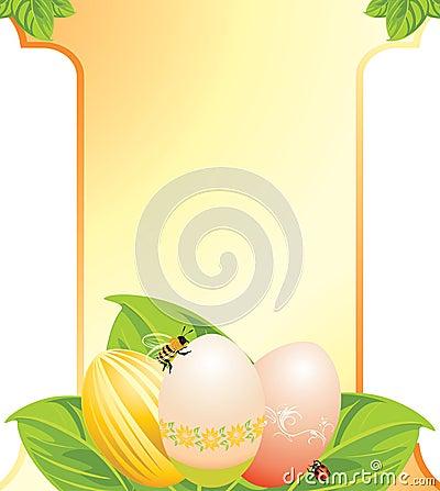 Easter festive card