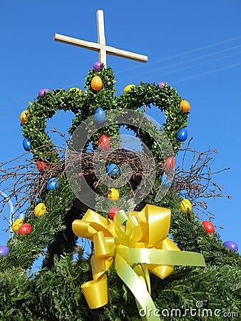 Free Easter Fountain Royalty Free Stock Photos - 29471788