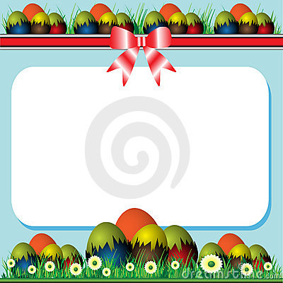 Free Easter Frame Royalty Free Stock Photography - 18922197