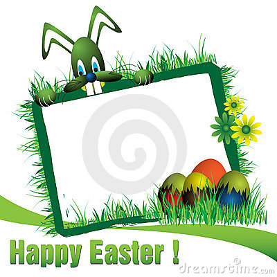 Free Easter Frame Stock Images - 23527874