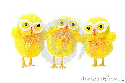 Easter geek chicks