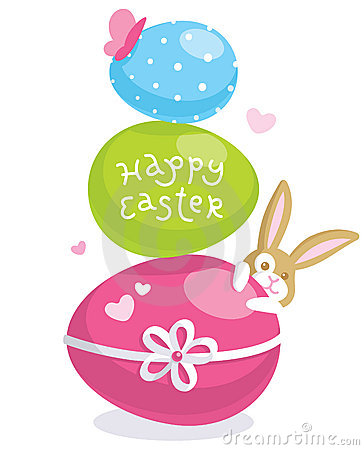 Free Easter Greeting Card Royalty Free Stock Photos - 18912678