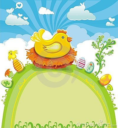 Free Easter Greeting Card Royalty Free Stock Images - 8567009