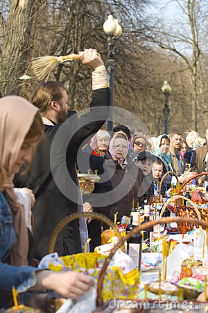 Free Easter In Moscow Royalty Free Stock Photography - 52001897