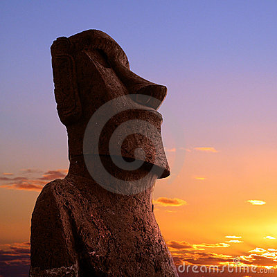 Free Easter Island Royalty Free Stock Photography - 8902527