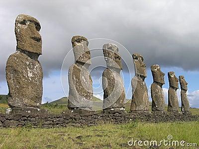 Easter Island - Ahu Akivi