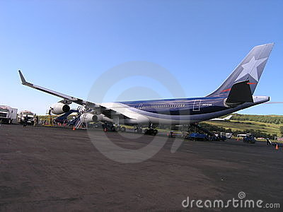 Easter Island - Mataveri Airport