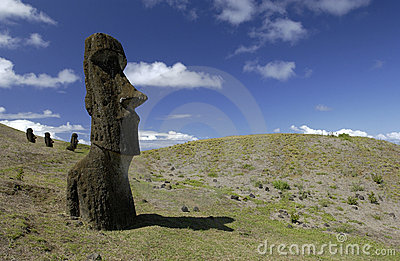 Easter Island - Moai - Chile