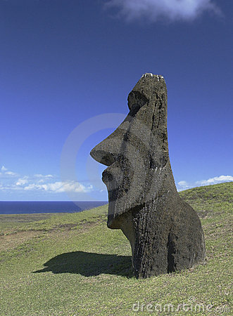 Easter Island Moai - Chile - South Pacific