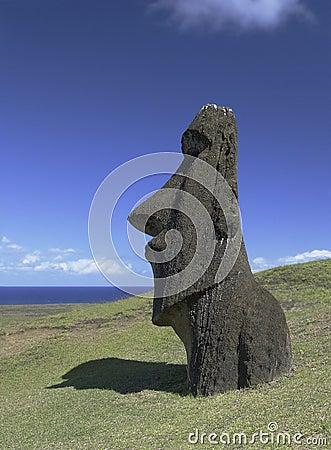 Easter Island Moai - Chile - South Pacific
