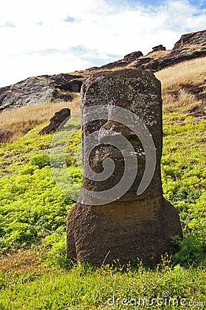Easter Island Moai - Rano Raraku
