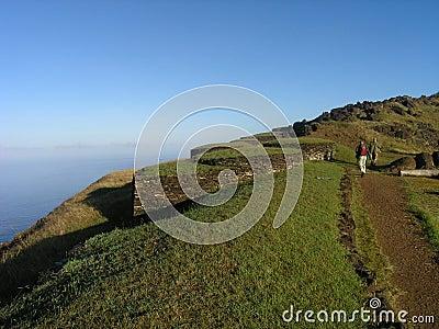 Easter Island - Orongo ceremonial village