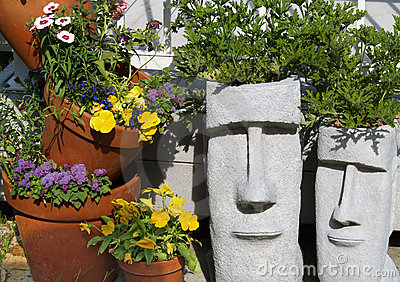 Easter Island Planters 1