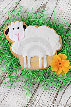 Free Easter Lamb Cookie Royalty Free Stock Photography - 29511167