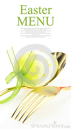 Free Easter Menu Stock Photography - 27384452