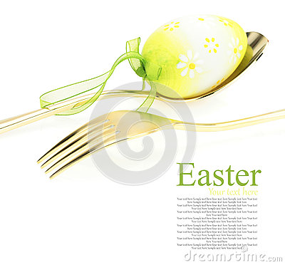 Free Easter Menu Royalty Free Stock Photography - 27384487