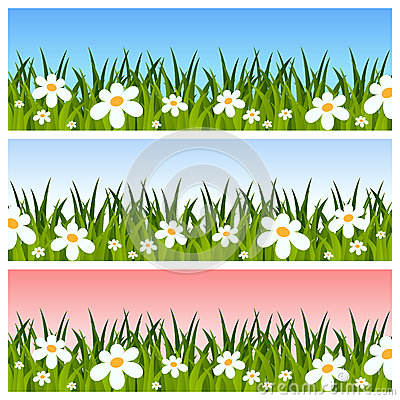 Free Easter Or Spring Banners Royalty Free Stock Images - 28846239