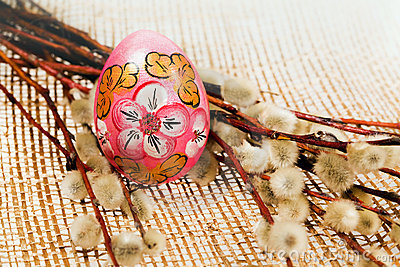 Easter painting eggs
