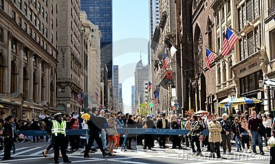 Easter Parade on 5th Avenue Editorial Image