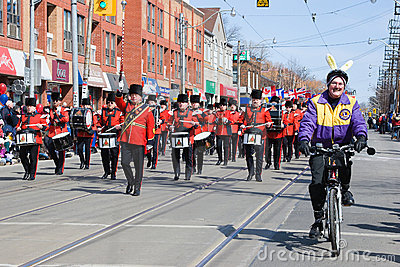 Easter parade in Toronto Editorial Photo