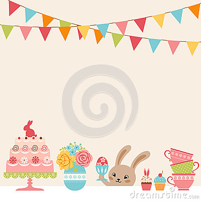 Free Easter Party Royalty Free Stock Images - 49971179