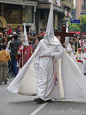 Easter procession in Cordoba, Spain Editorial Photography
