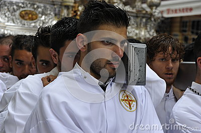Easter Procession in Malaga, Spain