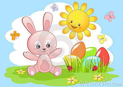 Easter rabbit.