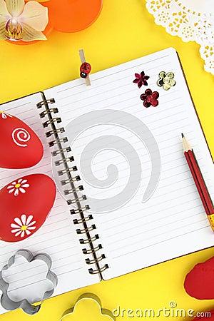 Easter recipe book