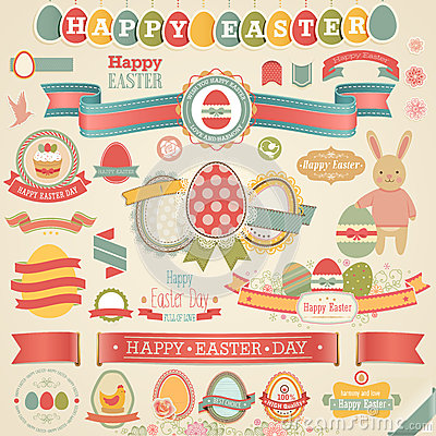 Free Easter Scrapbook Set. Royalty Free Stock Images - 29167059