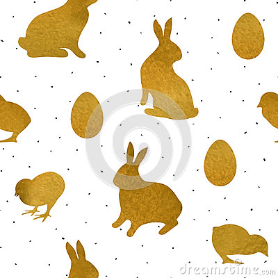 Free Easter Seamless Pattern1 Royalty Free Stock Photos - 68509218