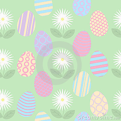 Easter Seamless Tile