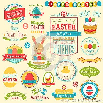 Free Easter Set Royalty Free Stock Photos - 29167018